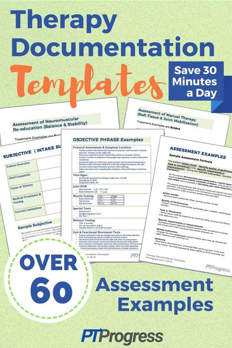 Physical Therapy Documentation Assessment Templates Physical Therapy Pediatric Physical Therapy Therapy