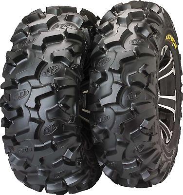 Pair for Xtreme 25x8-12 Sedona V-Bar ATV UTV Snow Tire Chains