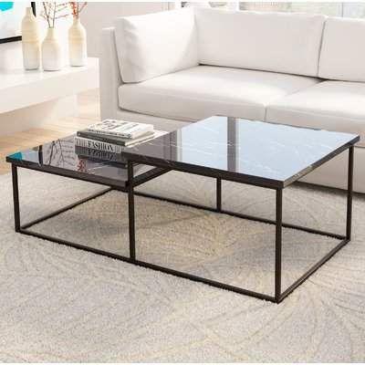 Brayden Studio Clemence Coffee Table Stone Coffee Table Coffee Table Design Table Furniture