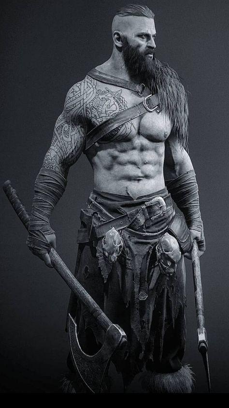 Фэнтези фото викингов
