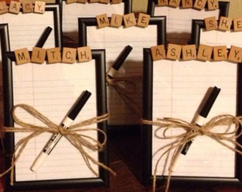 Employee Gifts, Dry Erase Board, CHOOSE ANY NAME or word, Teen gift, office party gift, coworker gift, secret santa gift 5x7