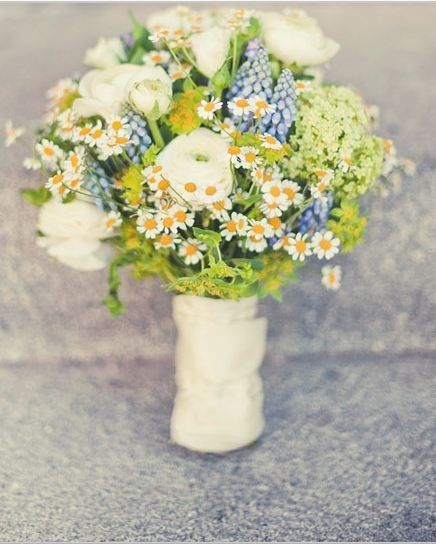 Mazzi Di Fiori Lavanda.Bouquet Di Fiori Di Campo Wedding Vintage Country Bouquet