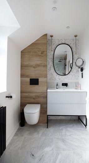 56 Trendy Ideas For Bathroom Marble Black Inspiration Bathroom With Images Small Bathroom Renovations Minimalist Bathroom Bathroom Interior