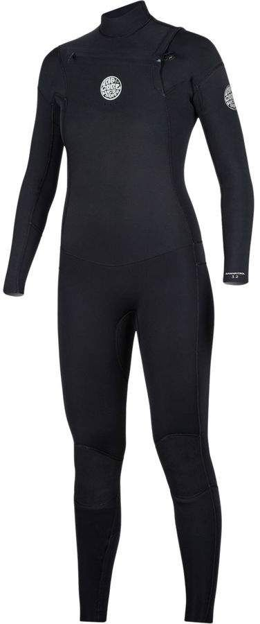 Rip Curl Dawn Patrol 4 3 Chest Zip Full Wetsuit Women S Womens Wetsuit Wetsuit Rip Curl