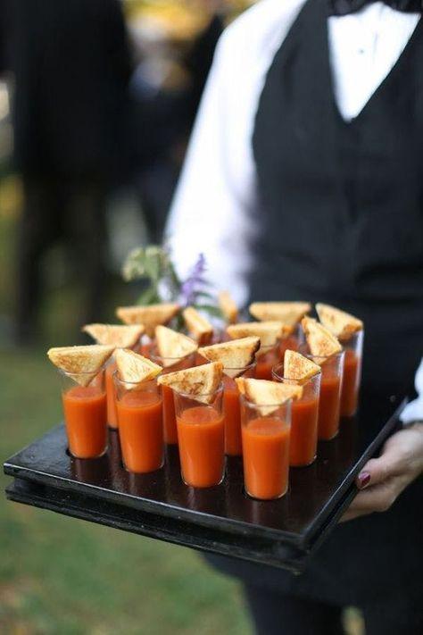Non Traditional Wedding Appetizer Ideas Weddingfood