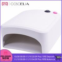 36w Uv Lamp Gel Nail Dryer White Uv Nail Lamp Curing For Uv Nail Gels Polish Nail Art Tools Hot Sale 818 Uv Nail Lamp Gel Polish Nail Art Uv Nails