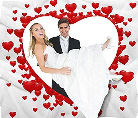 Hochzeitsherz Zum Ausschneiden Fur Das Brautpaar Inkl 2