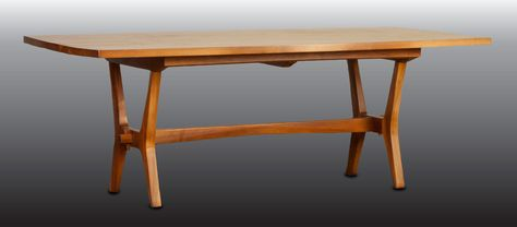 Cool 7 Foot Wide Dining Table By The Danish Mid Century Modern Pabps2019 Chair Design Images Pabps2019Com