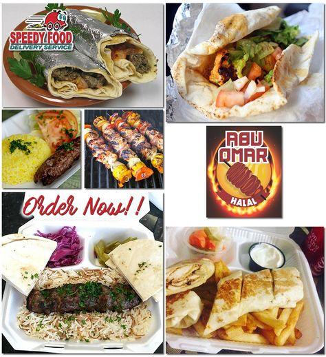 Abu Omar Halal Is A Halal Food Truck That Specializes In Arab Food Their Menu Ranges From Shawarmas Kabobs Falafel And Gyro Sand Food Food Net Halal Recipes