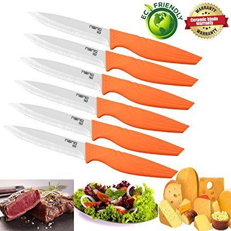 Nano Id Ceramic Steak Knife Kitchen Ceramic Super Knife Review