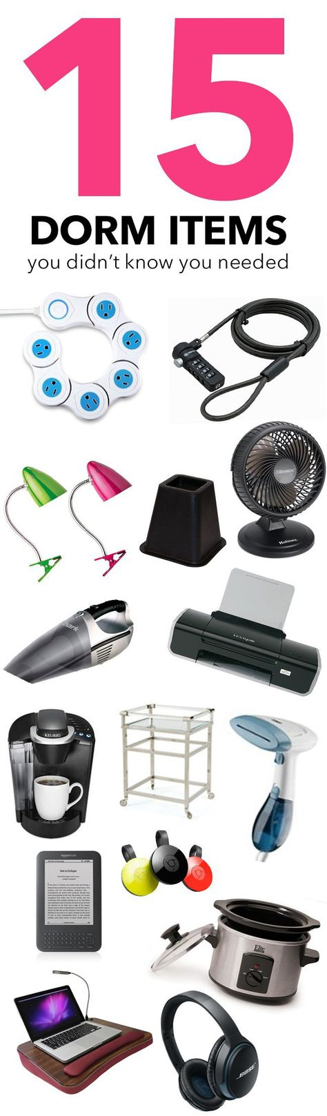 15 Dorm Items You Didn't Know You Needed - Society19