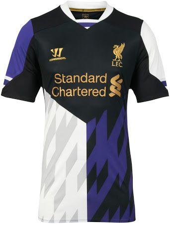 Liverpool 13 14 2013 14 Home Away Third Kits Released Footy Headlines Football Shirt Designs Football Shirts Shirts