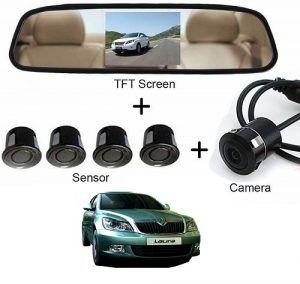 Skoda Laura Car Display Reverse Parking Sensor Jetta Car