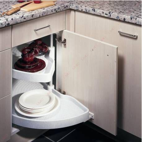 Tourniquet Standard Demi Lune A Ouverture Automatique Pour Meuble D Angle De Cuisine Tout Pour Une Cuisine F Meuble Cuisine Meuble Angle Cuisine Meuble D Angle