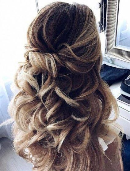 Half Up Hairstyles For Short Hair For Prom 10