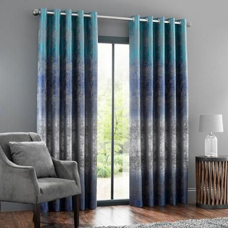 63 Stunning Examples Of Brown Ombre Hair Blue Eyelet Curtains