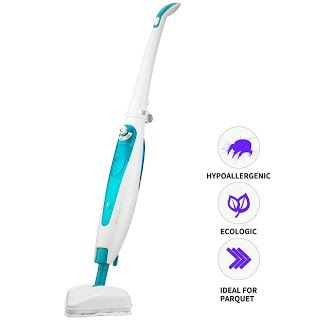 Features And Reviews Luukmonde Steam Mop Floor Cleaning Steam Cleaner Window Carpet Tile Hardwood Floors Marble Cleaner 8m Length Power Cord Foldable Design W