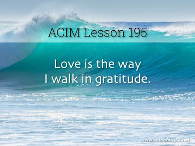 Acim Workbook Lesson 195 With Images Lesson Workbook Course
