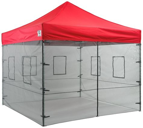 Impact Canopies 10 Vendor Food Mesh Walls Sidewall Canopy Kit Walls Only Be Sure To Check Out This Awesome Product This Is An Canopy Tent Instant Canopy