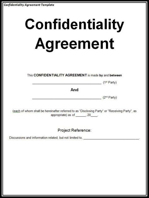 confidentiality agreement Non disclosure agreement Pinterest - employee confidentiality agreement