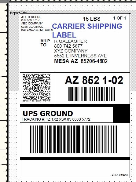 Shipping Label Templates Word Ups Shipping Label Template Word Printable Label Templates Label Templates Address Label Template