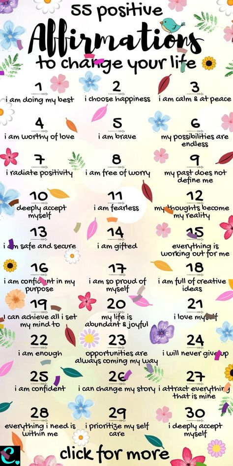 Positive affirmations to change your life #dailyaffirmation #positivevibes #affirmations