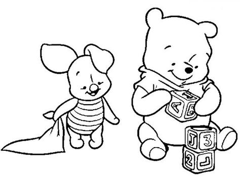 Pinned From Site Directly Baby Winnie The Pooh Coloring
