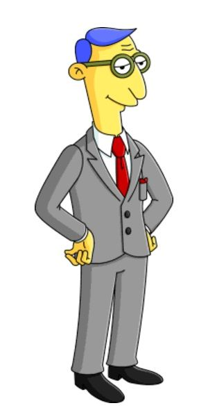 Blue Haired Lawyer Simpsons Characters The Simpsons Simpsons Art