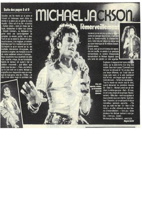 Rome, 1er concert européen de Michael Jackson: l ...