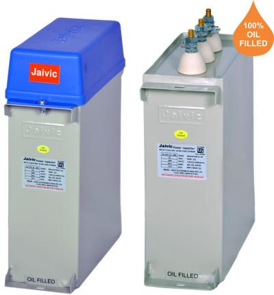 Jaivic Power Factor Correction Capacitors Capacitors Manufacturing Power
