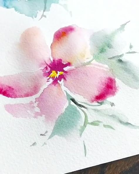 """Watercolor, with all its subtle color and value gradations and its many welcome... - Beauty"