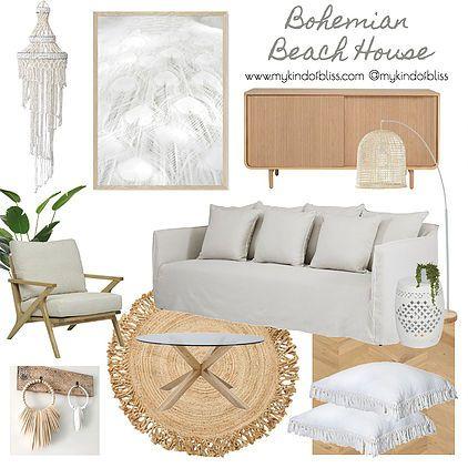 Bohemian Beach House Livingroom Design Livingroom Decor My Kind