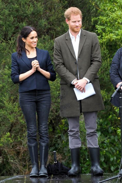 El príncipe Harry y Meghan Markle presentan a su bebé: Fotos