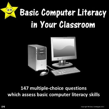 Basic Computer Literacy In Your Classroom How Well Do Your Students Demonstrate Proficiency In The Use Of Comput Computer Literacy Teaching Computers Literacy