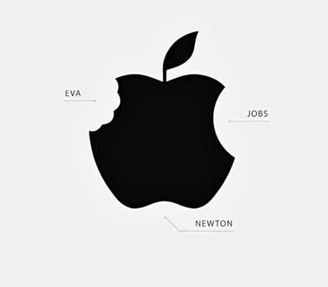 The 3 apples that changed the world. . . . #phone #apple #appleproducts #apples #applefan #appleevent #applerepair #applepencilart #todayatapple #applebum #physics #science #gravity #newton #helmutnewton #windsorandnewton #camnewton #newtonrunning #newtoncompton  #adam #eve