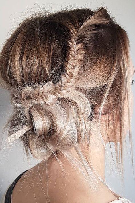 42 Boho Wedding Hairstyles For Tender Bride