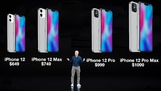 The 2020 Iphone Lineup Is Looking Better Than Ever With The Recent Price Leak Of The Iphone 12 And Iphone 12 Pro Now Appl In 2020 Iphone Pretty Wallpaper Iphone Leaks