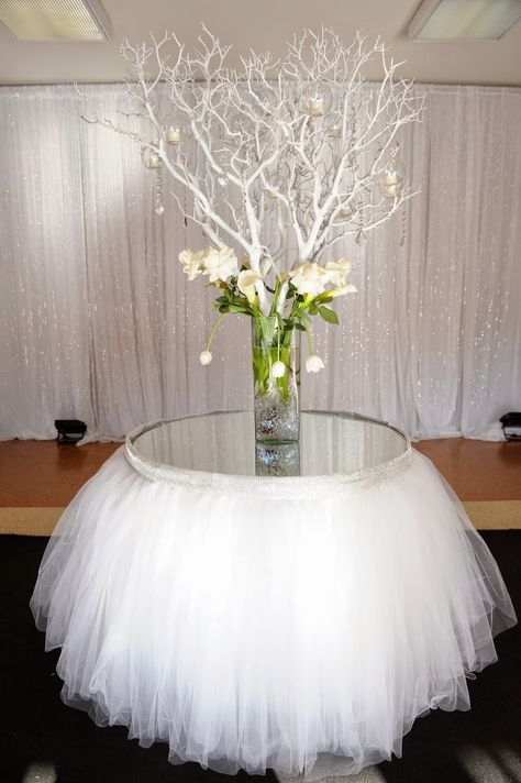 SBD Events - The Event Specialist. White tree branches etc