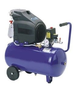 Heavy Duty 24l Air Compressor With 2 Hp Copper Motor Air