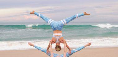 Yoga Ubungen Zu Zweit 3 Effektive Akro Yoga Posen Fur Anfanger
