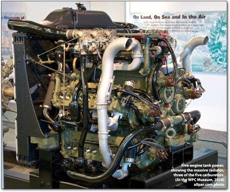 Sherman Tank Engine Chrysler