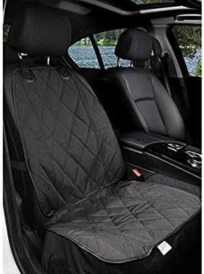 Incredible Amazon Com Barksbar Pet Front Seat Cover For Cars Black Creativecarmelina Interior Chair Design Creativecarmelinacom
