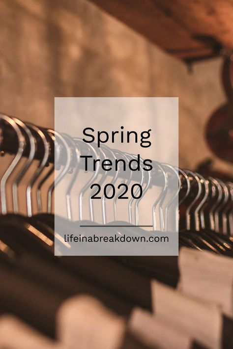 Spring Trends 2020 #spring #fashion #fbloggers #fashionideas #trends2020 #fashion #style #love #moda #model #photography #beautiful #beauty #instafashion #fashionista #instagram #cute #makeup #lifestyle #dress #design #handmade #girl