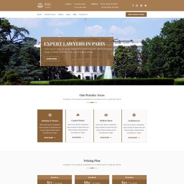 Aja Law And Lawyer Psd Templates Templates Website Template Psd Templates