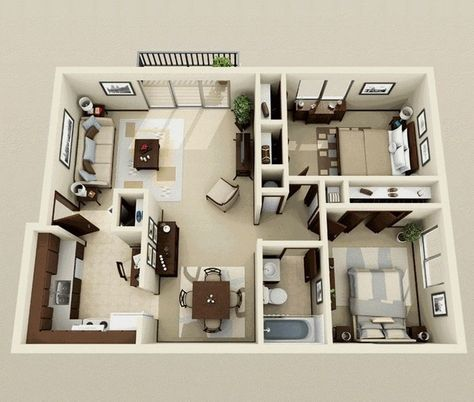 5 Tips For Designing Your Dream Home New House Design Two Bedroom House Small House Plans Modern House Plans
