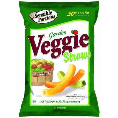 Garden Veggie Straws Sea Salt Veggie Straws Garden Veggie