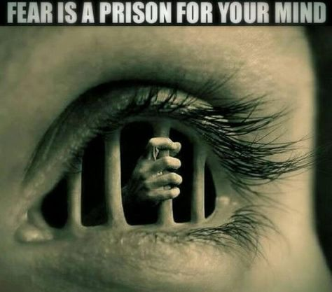 #FEAR Fear is in the #mind ... and it can lock you out of life if you let it.