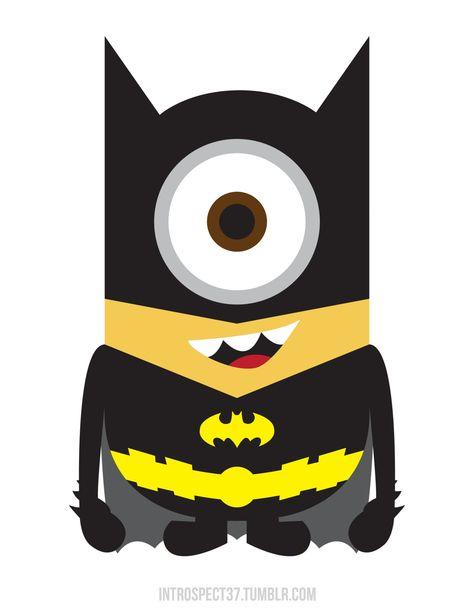 Batminion! I LOVE this!!