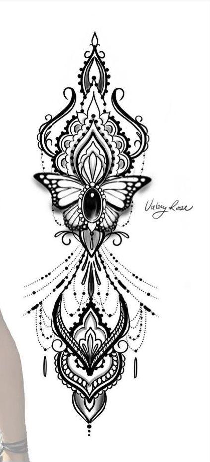 Pin Von Javiera Navarrete Auf Tattoo Pattern