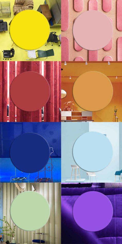 color trends 2019, top colors 2019, interior trends, design trends colors, pantone 2019, italianbark, milan design week 2018 trends